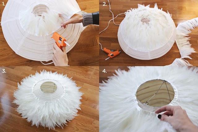 diy-lampara-plumas